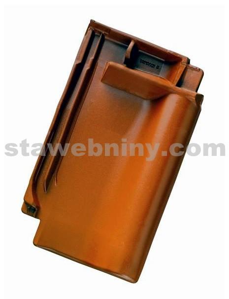 TONDACH SAMBA 11 taška pro připojení hřebene černá engoba