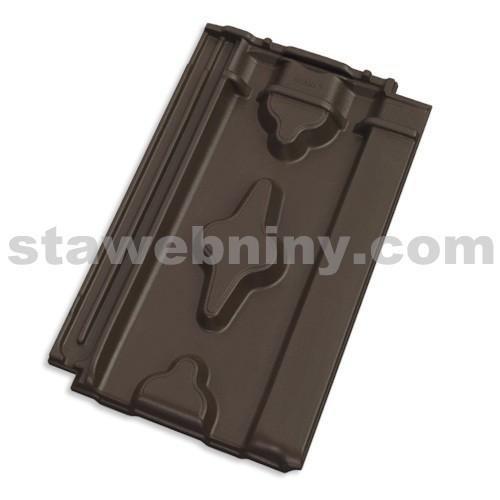 TONDACH SRDCOVKA 11 taška základní tmavě hnědá engoba