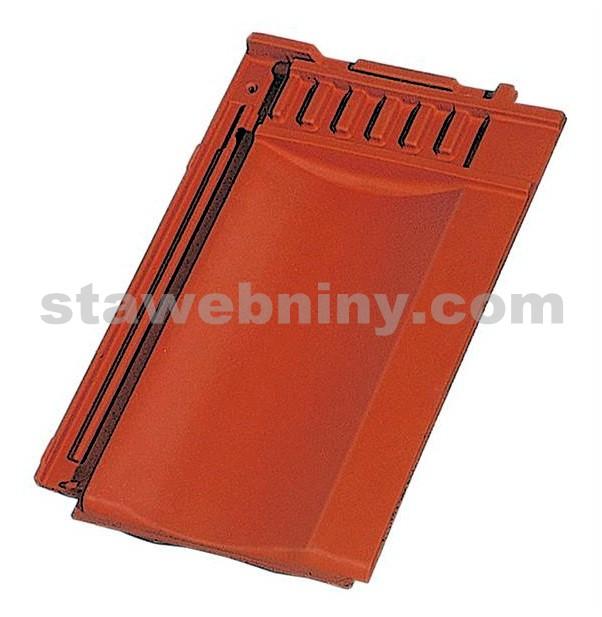 TONDACH STODO 12 taška posuvná pro připojení hřebene větrací černá engoba