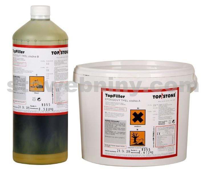 TOPSTONE TopFiller exteriér/interiér - epoxidový tmel 3kg<br/>