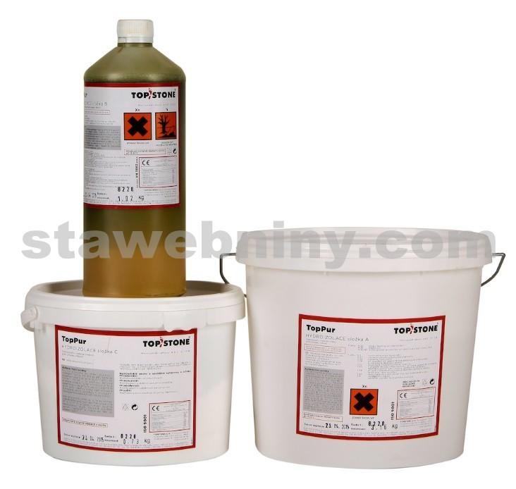 TOPSTONE TopPur - tekutá polyuretanová izolace exteriér/interiér 5kg<br/>