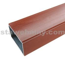 TRANSFORM jekl 50x30x2 mm, délka do 4,00m, zinek+plast, Cihlová