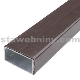 TRANSFORM jekl 50x30x2 mm, délka do 2,00m, zinek+plast, Hnědá