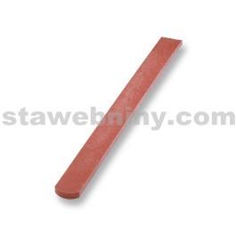 TRANSFORM Plastová Plotovka 78/21, délka 0,8m, s půlkulatou hlavou, cihlová
