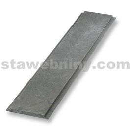 TRANSFORM Plastové Víko velké 200/130mm, délka 1,2m, šedá