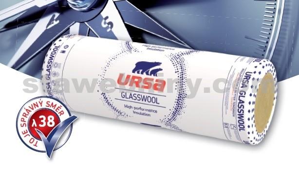 URSA Izolace DF 38 skelná vata tl. 60mm