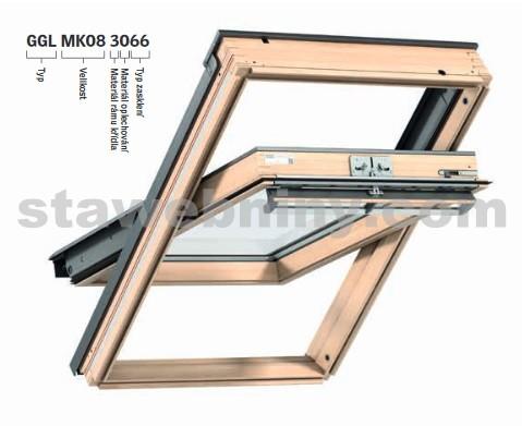 VELUX Střešní okno GGL 3073 SK06