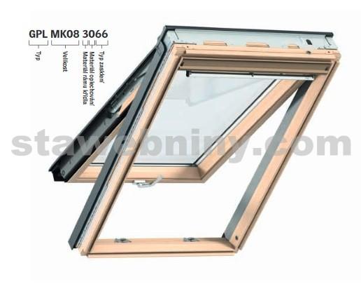 stresni okno velux gpl 3066 sk06. Black Bedroom Furniture Sets. Home Design Ideas