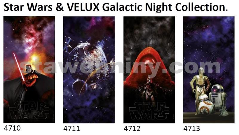VELUX Zcela zatemňující roleta DKL MK06/M06 kolekce Star Wars