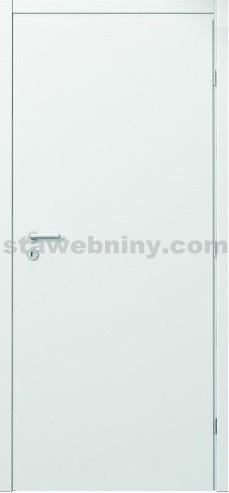 PORTA Dveře vnitřní VERTE BASIC lakované plné š. 70cm bílé levé