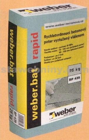 WEBER.Bat rapid - betonový potěr 25kg
