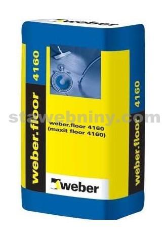 WEBER.Floor 4160 - rychlá samoniv. hmota 2-30mm, 25kg