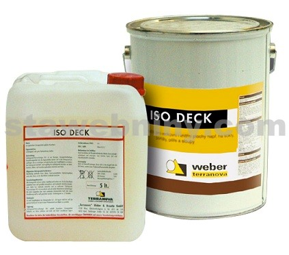 WEBER ISO DECK - na vodní a nikotinové skvrny 15kg