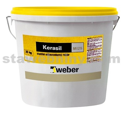 WEBER Kerasil - vnitřní minerální nátěr 15kg - bílý