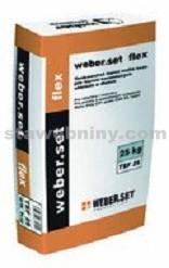 WEBER.Set flex - lepicí tmel na obklady a dlažbu C1T S1 25kg