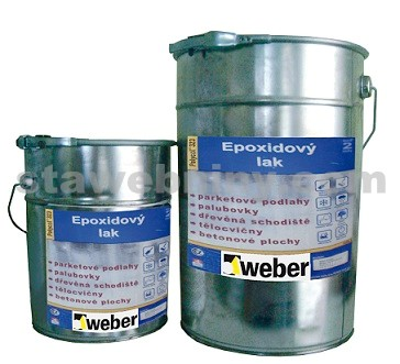 WEBER.Sys epox mat lak složka A 5kg + složka B 2kg- epoxidový lak polomatný