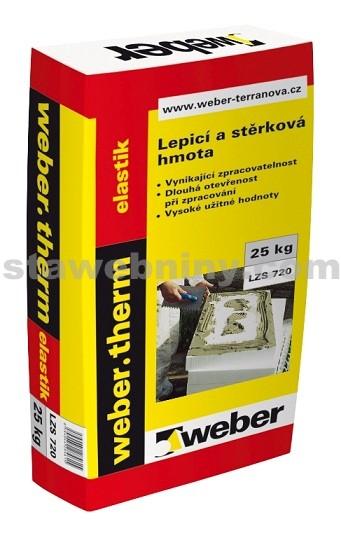 WEBER.Therm elastik - pružný lepicí a stěrkový tmel 25kg