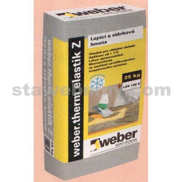 WEBER.Therm elastik Z - zimní lepicí a stěrkový tmel 25kg