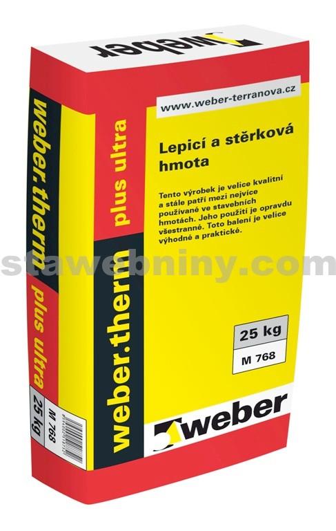 WEBER.Therm plus ultra - lepicí a stěrkový tmel 25kg