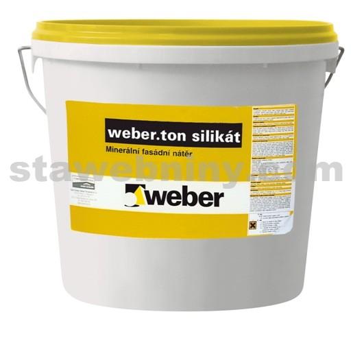 WEBER.Ton silikát - fasádní nátěr 5kg