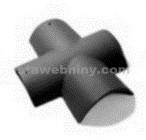 BESK EXTRA matná Hřebenáč rozdělovací X břidlicově černá