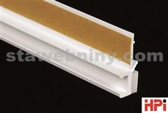 HPI Lišta začišťovací s těsnícím jazýčkem pro tenkovrstvé omítky 6mm, délka 2,4m