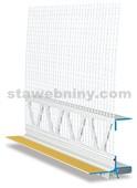HPI Lišta začišťovací 3D 257 SL s tkaninou 12,5cm, délka 2,4m
