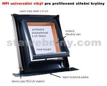 HPI Univerzální HPI vikýř 500*600mm - titanzinek