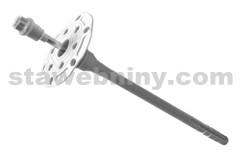 HPI KEW hmoždinka talířová s ocelovým šroubem TSBD 8*240mm s ETA