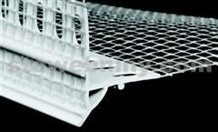 HPI Zakončovací profil pod omítku s okapničkou a tkaninou - přesah tk. 100/150mm, délka 2m