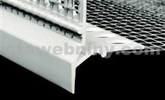 HPI Zakončovací profil s okapničkou a tkaninou - přesah tkaniny 100/100mm, délka 2m