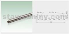 JAP Nerezová Trubka sloupku 1100mm pro boční kotvení, AISI 304