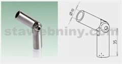 JAP Nerezová Spojka kloubová prutů O 10 mm, AISI 304