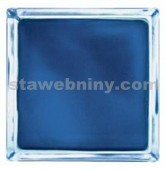 LUXFERY - Luxfera 1919-8WBM Wave Matty Blue, s vlnkou, neprůhledná modrá
