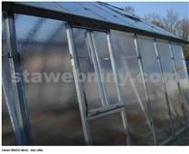 LIMES Boční okno pro Variant - bez skla - pozink