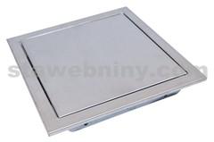 Revizní dvířka NEREZOVÁ 300/300 tlačný magnet