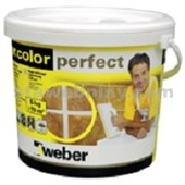 WEBER.Color perfect milk - bílá 5kg - kbelík